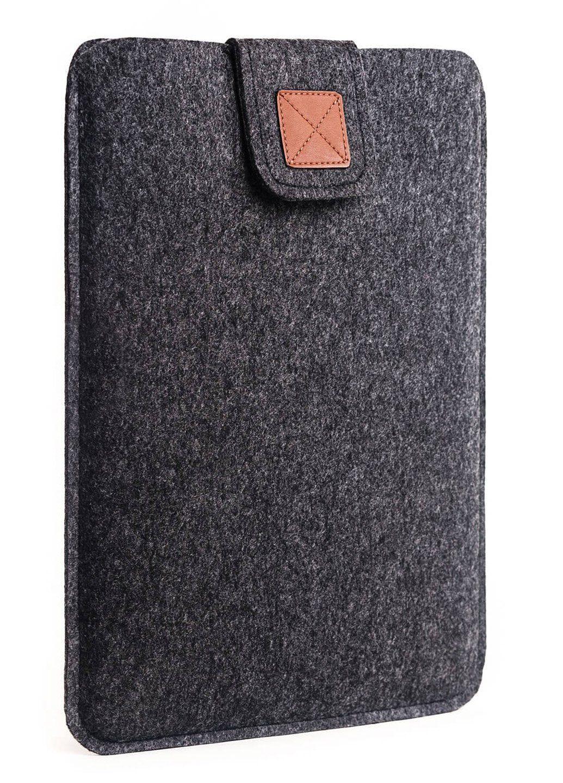 Сумка-чохол фетровий для Macbook 15 black, Черный