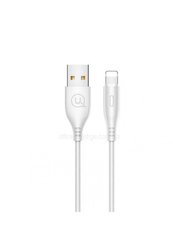 Кабель Lightning to USB Usams U18 1 метр White (US-SJ266) фото