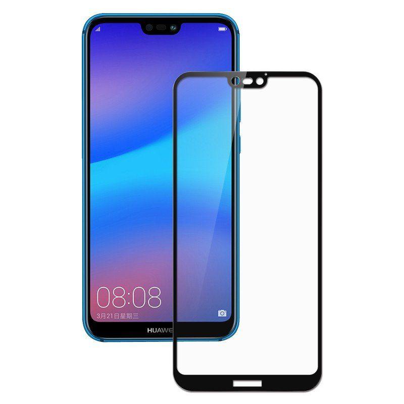 Защитное стекло 3D для Huawei P20 Lite black