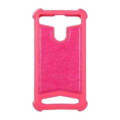 "Universal Soft Leather Case 4,0""""-4,3"""" Pink фото"