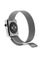 Ремешок Milanese Loop для Apple Watch 38/40mm silver фото
