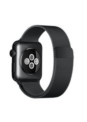 Ремешок Milanese Loop для Apple Watch 42/44mm black фото