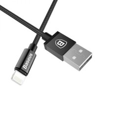 Кабель Lightning to USB MFI Baseus 1 метр Black фото
