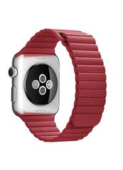 Ремешок Leather loop for Apple Watch 38/40mm Red фото
