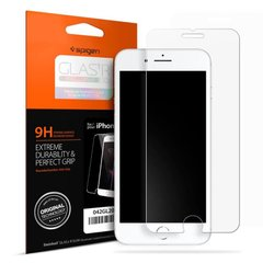 "Захисне скло Spigen ""Glas.tR SLIM HD"" для iPhone 7/8 / SE 2020 Glass прозоре (1Pack) Clear фото"