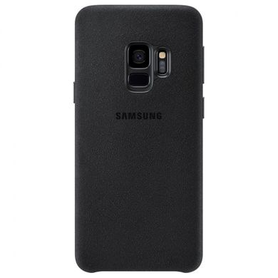 Чехол Alcantara Cover для Samsung Galaxy S9 black фото