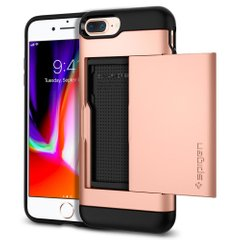 Чехол Spigen Slim Armor CS для iPhone 8/7 Plus Blush gold 055CS22575 фото