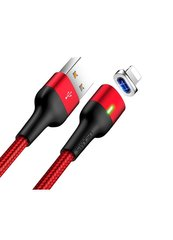 Кабель Lightning to USB Usams U28 1 метр Red (US-SJ326) фото