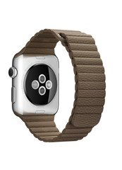 Ремешок Leather loop for Apple Watch 38/40mm Beige фото