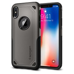 Чехол Spigen Hybrid Armor для iPhone 8/7 Plus Gunmetal фото