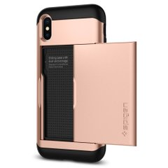 Чехол Spigen Slim Armor CS для iPhone Xs Max Blush gold 065CS24843 фото