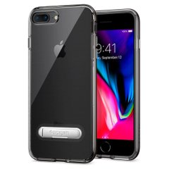 Чехол Spigen Crystal Hybrid для iPhone 8/7 Plus Gunmetal 043CS20508 фото