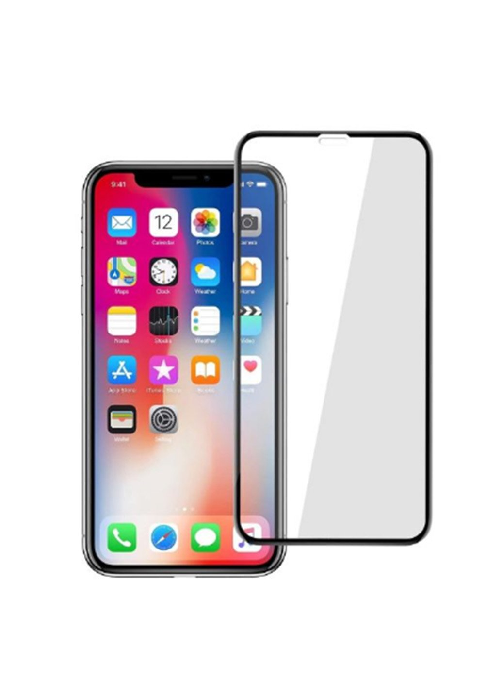 Защитное стекло для телефона Baseus Silk-screen 0.2 mm for iPhone X/Xs/11 Pro(SGAPIPHX-TN01) фото