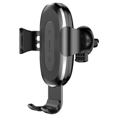 Холдер Baseus Wireless Fast Charger Gravity Car Mount (WXYL-01) Black фото