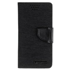 "Universal Book Cover Goospery Canvas Diary 5.0"""" Black фото"