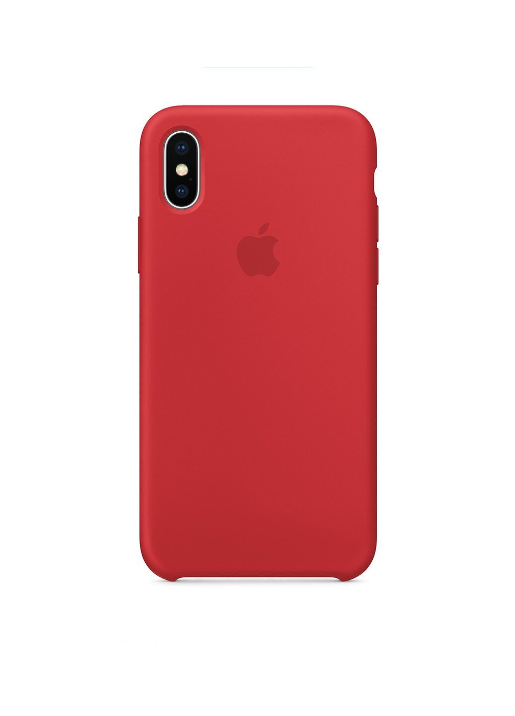 Чехол силиконовый soft-touch Apple Silicone case для iPhone Xs Max красный PRODUCT Red