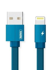 Кабель Lightning to USB Remax Kerolla 1 метр Blue RC-094i фото