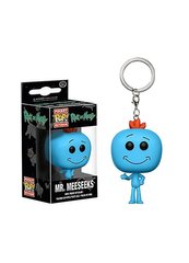 Фигурка - брелок Pocket pop keychain Rick and Morty - Mr.Meeseeks 3.6 см фото