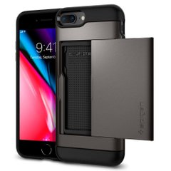 Чехол Spigen Slim Armor CS для iPhone 8/7 Plus Gunmetal 043CS20526 фото