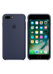 Чехол Apple Silicone case for iPhone 7+/8+ Midnight Blue фото