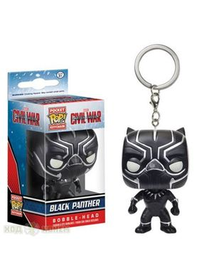 Фигурка - брелок Pocket pop keychain Captain America- Black Panther 3.6 см фото