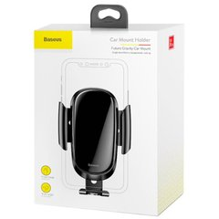 Холдер Baseus Future Gravity Car Mount Holder (SUYL-WL01) Black фото