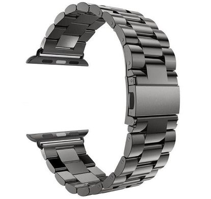 Металлический ремешок Stainless Steel for Apple Watch 38 mm/40 mm black фото