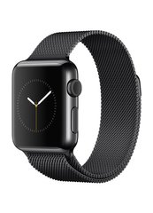 Ремешок Milanese Loop для Apple Watch 38/40mm black фото