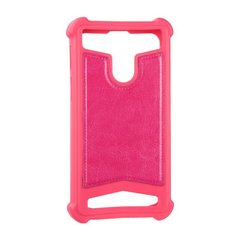 "Universal Soft Leather Case 5,0""""-5,3"""" Pink фото"