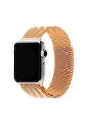 Ремешок Milanese Loop для Apple Watch 38/40mm gold фото